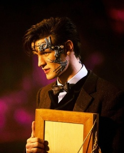 Matt Smith as the 11th Doctor and Mr. Clever