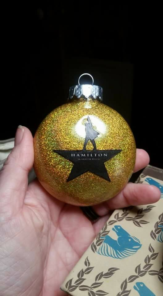 Hamilton Christmas Ornament.Hamilton Ornament Communiques From The Cyberiad