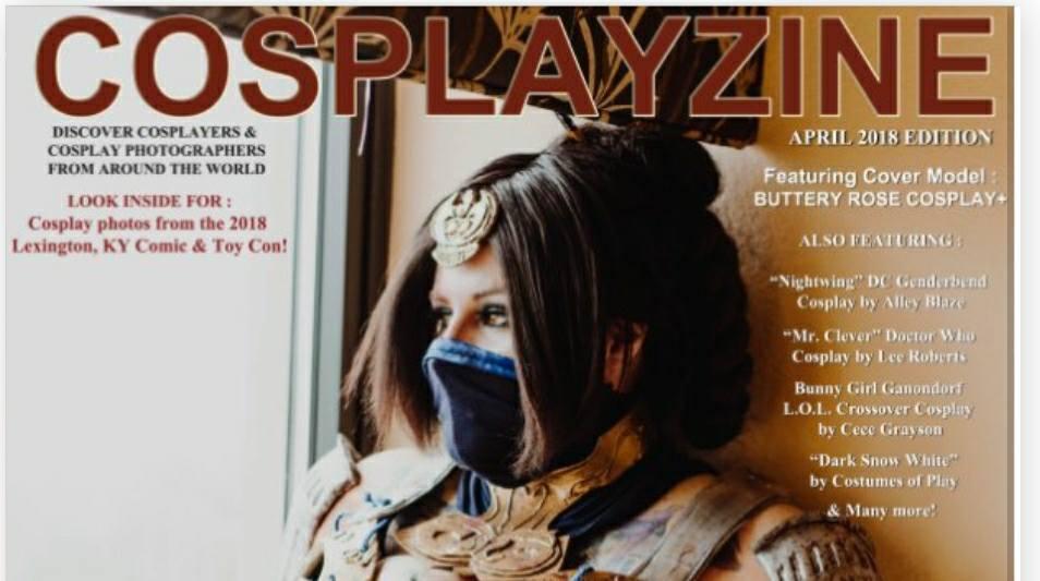 cosplayzine cover